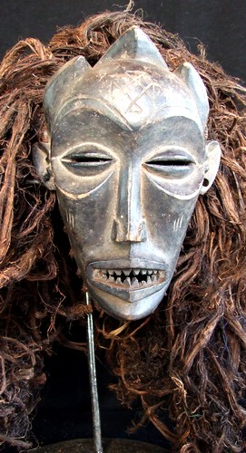 masque africain sorcellerie
