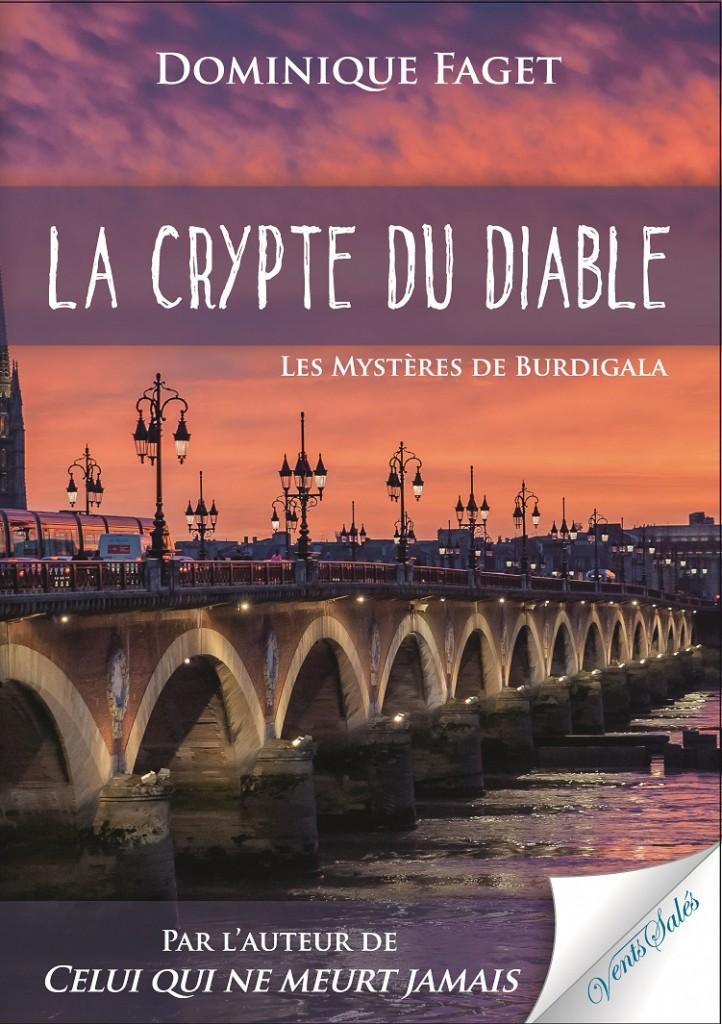 Couverture - La crypte du diable - Dominique FAGET